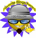favorite blogs award from David
